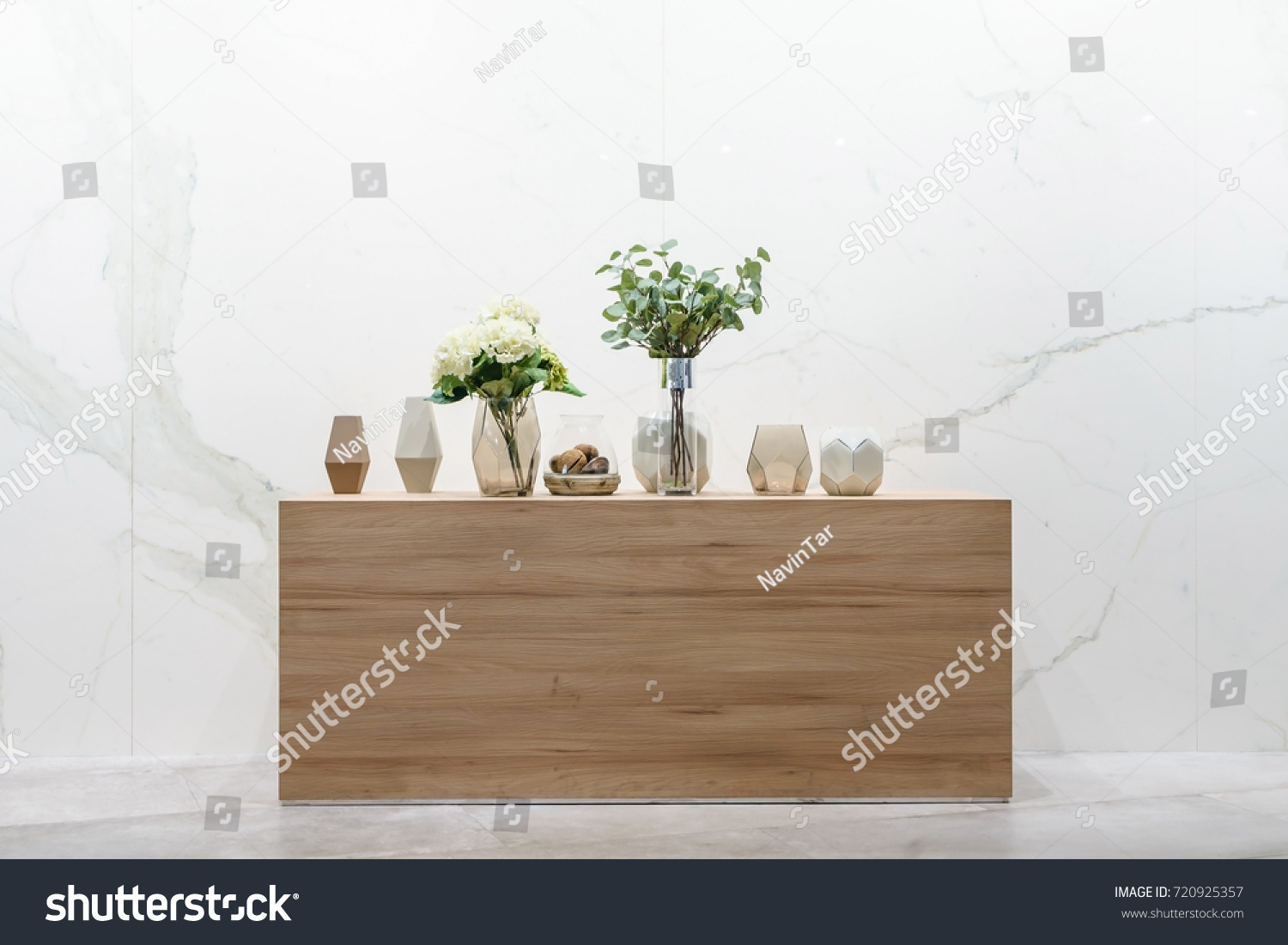 Interior design classic room beautiful flower stock photo interior design of classic room with beautiful flower in vase and decoration on wood table in reviewsmspy