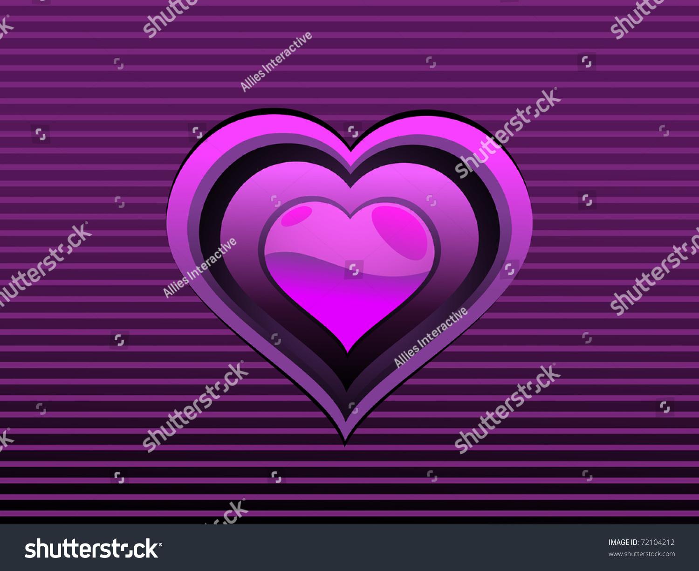 Abstract purple lines background isolated purple stock vector abstract purple lines background with isolated purple heart buycottarizona