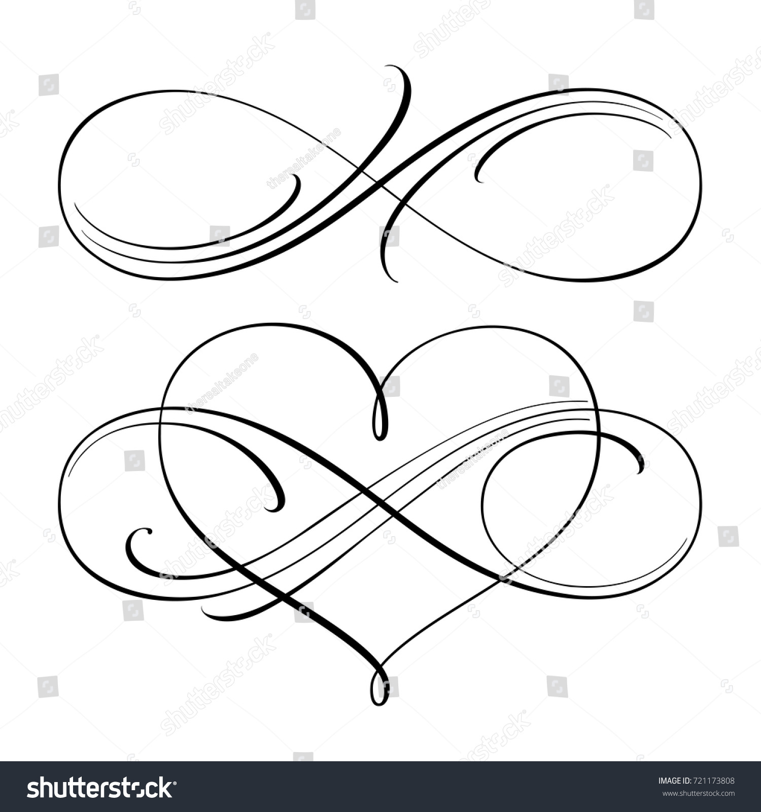 Infinity love icon vector valentines day stock vector 721173808 infinity love icon vector valentines day symbol buycottarizona