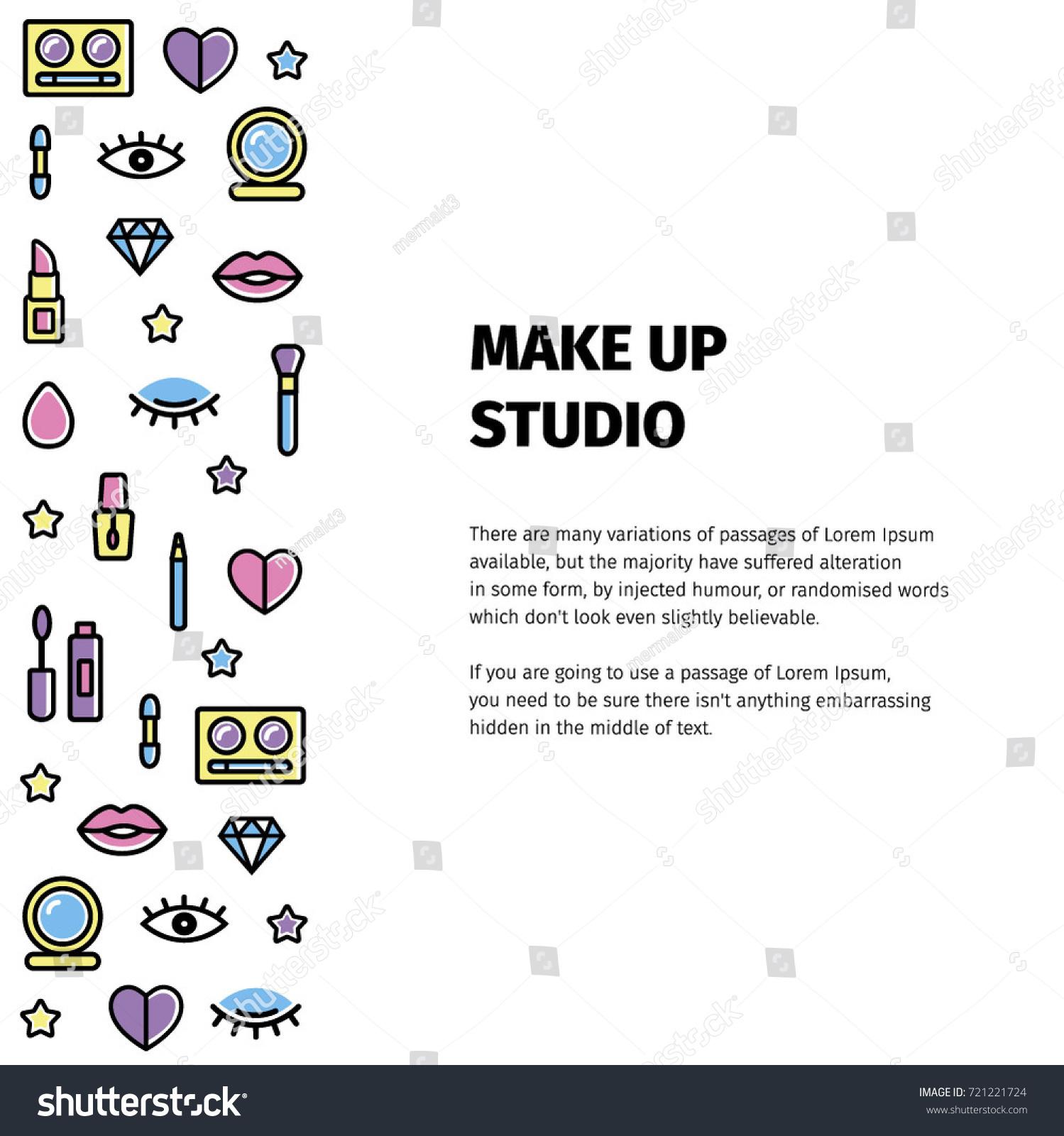 make up logo for beauty studio. make up logo for beauty artist. make up 2ac7588fe1