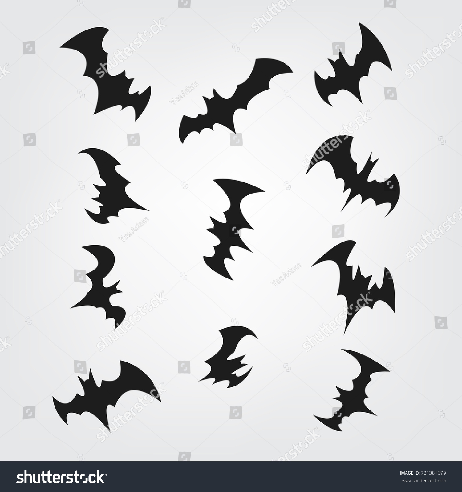 This is a graphic of Printable Bats for identification