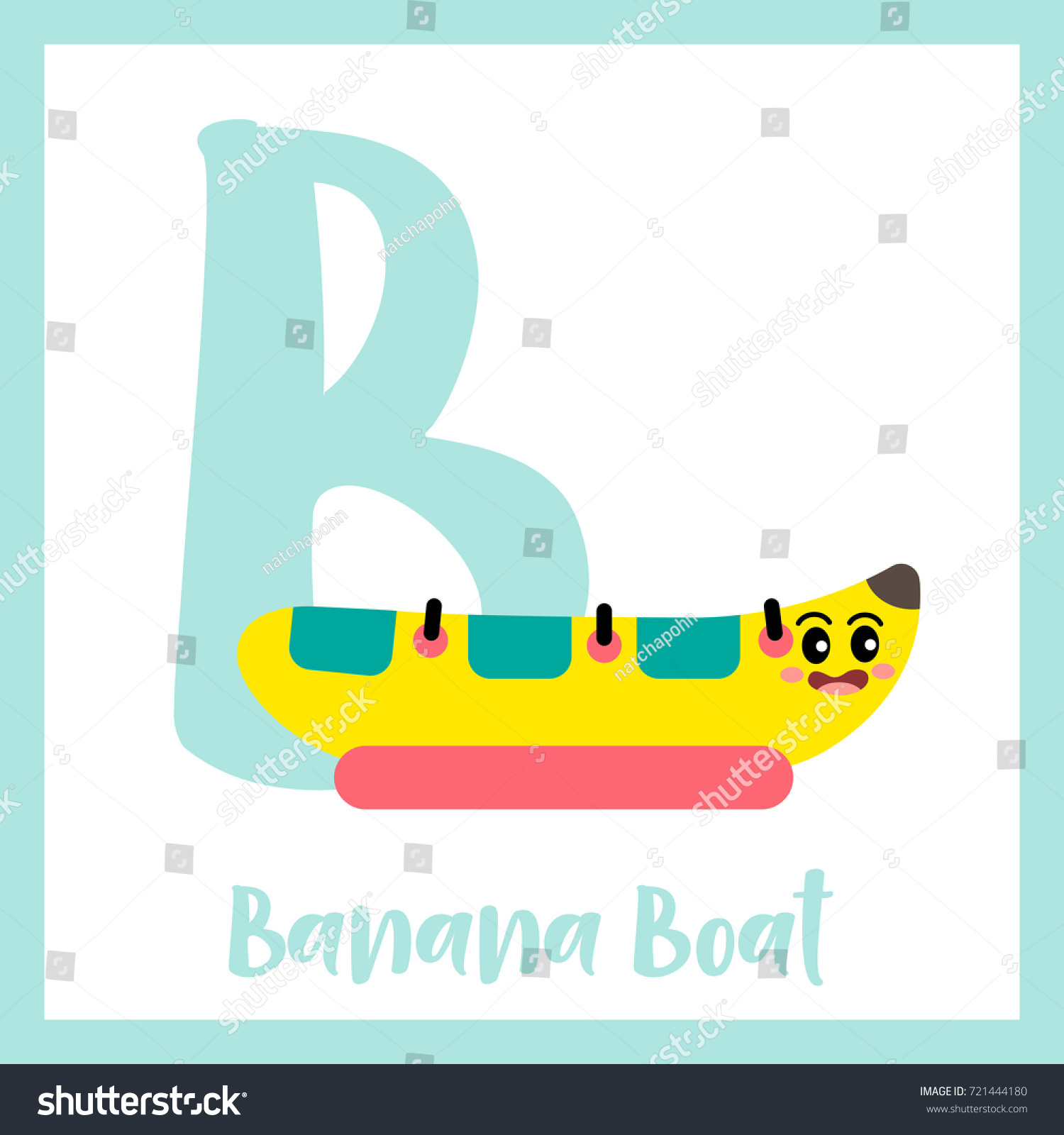 letter b cute children colorful transportations stock vector