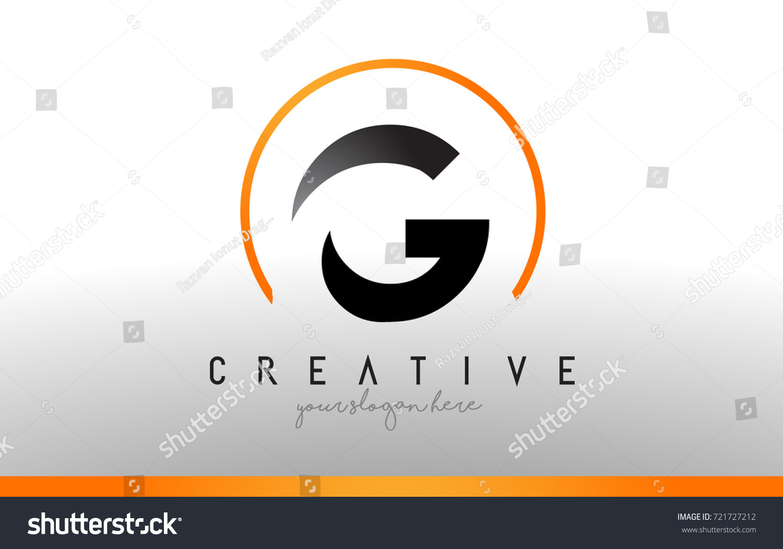 G letter logo design black orange stock vector 721727212 g letter logo design with black orange color cool modern icon letters logo vector biocorpaavc Images
