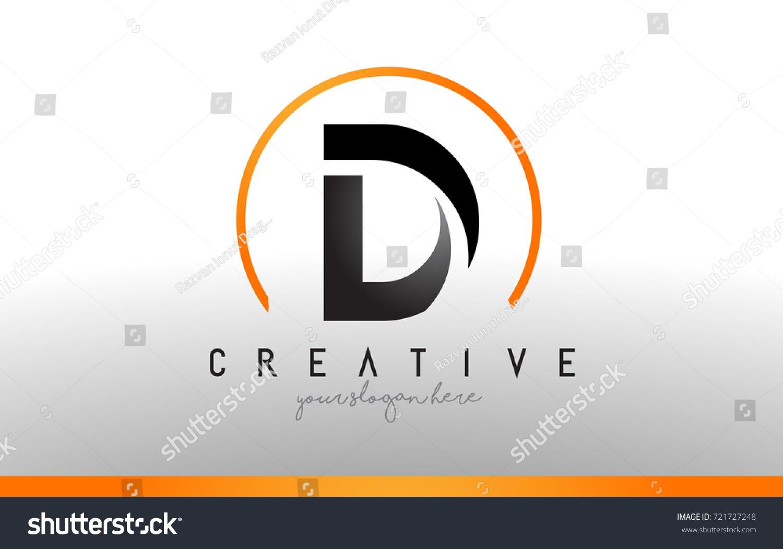 D letter logo design black orange stock vector 721727248 d letter logo design with black orange color cool modern icon letters logo vector biocorpaavc Images