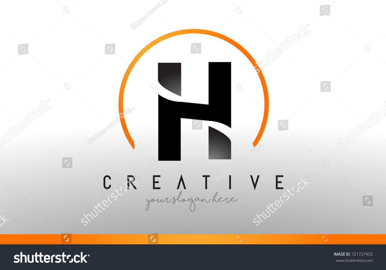 H letter logo design black orange stock vector 721727455 h letter logo design with black orange color cool modern icon letters logo vector biocorpaavc Images