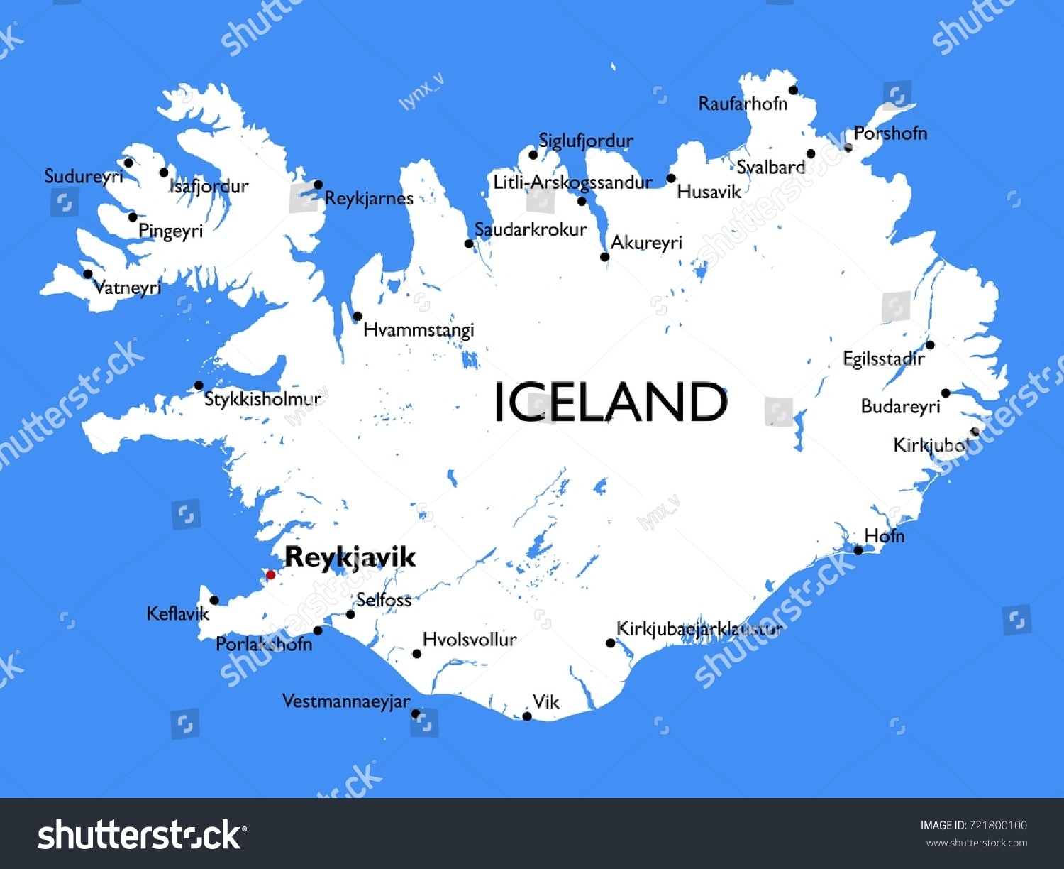 Iceland World Map Map Of Newark Airport - Iceland map world