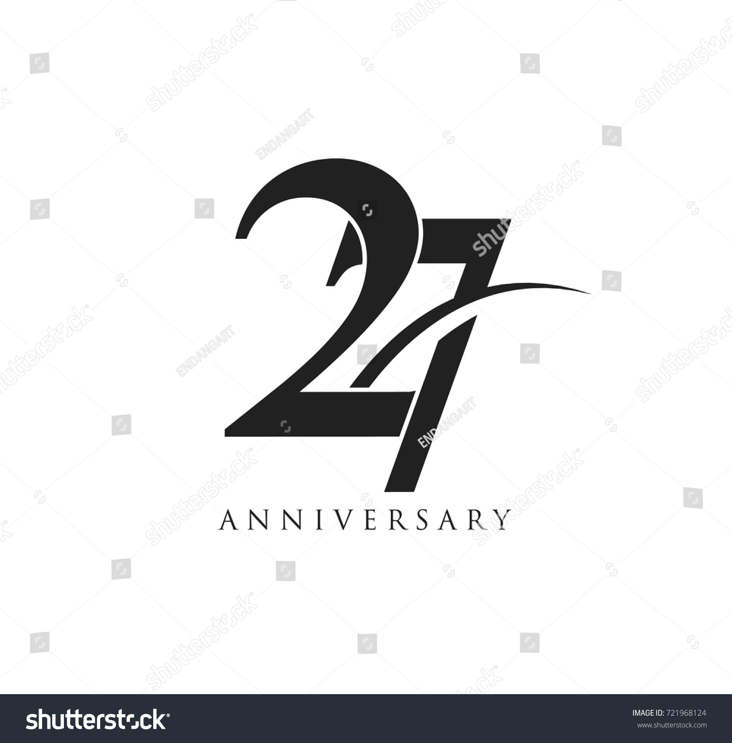 27 years anniversary pictogram vector icon stock vector 721968124 27 years anniversary pictogram vector icon simple years birthday logo label black and white biocorpaavc Images