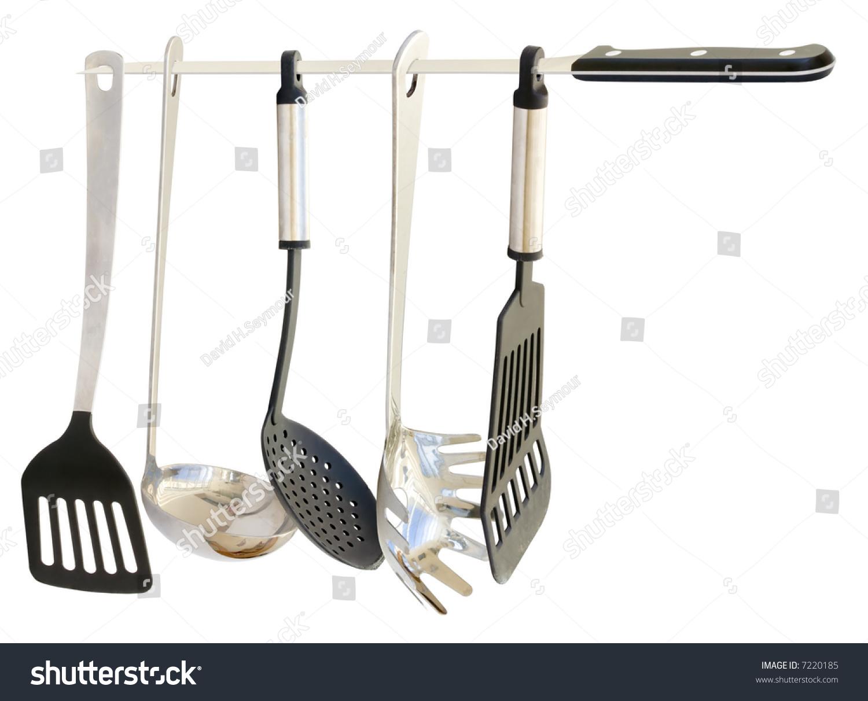 Set Five High Quality Kitchen Utensils Stock Photo 7220185 ...