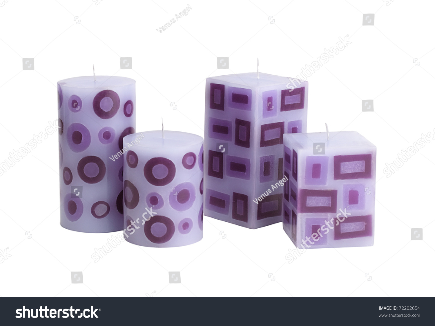 decorative candles for decorate your home or spa - Decorative Candles