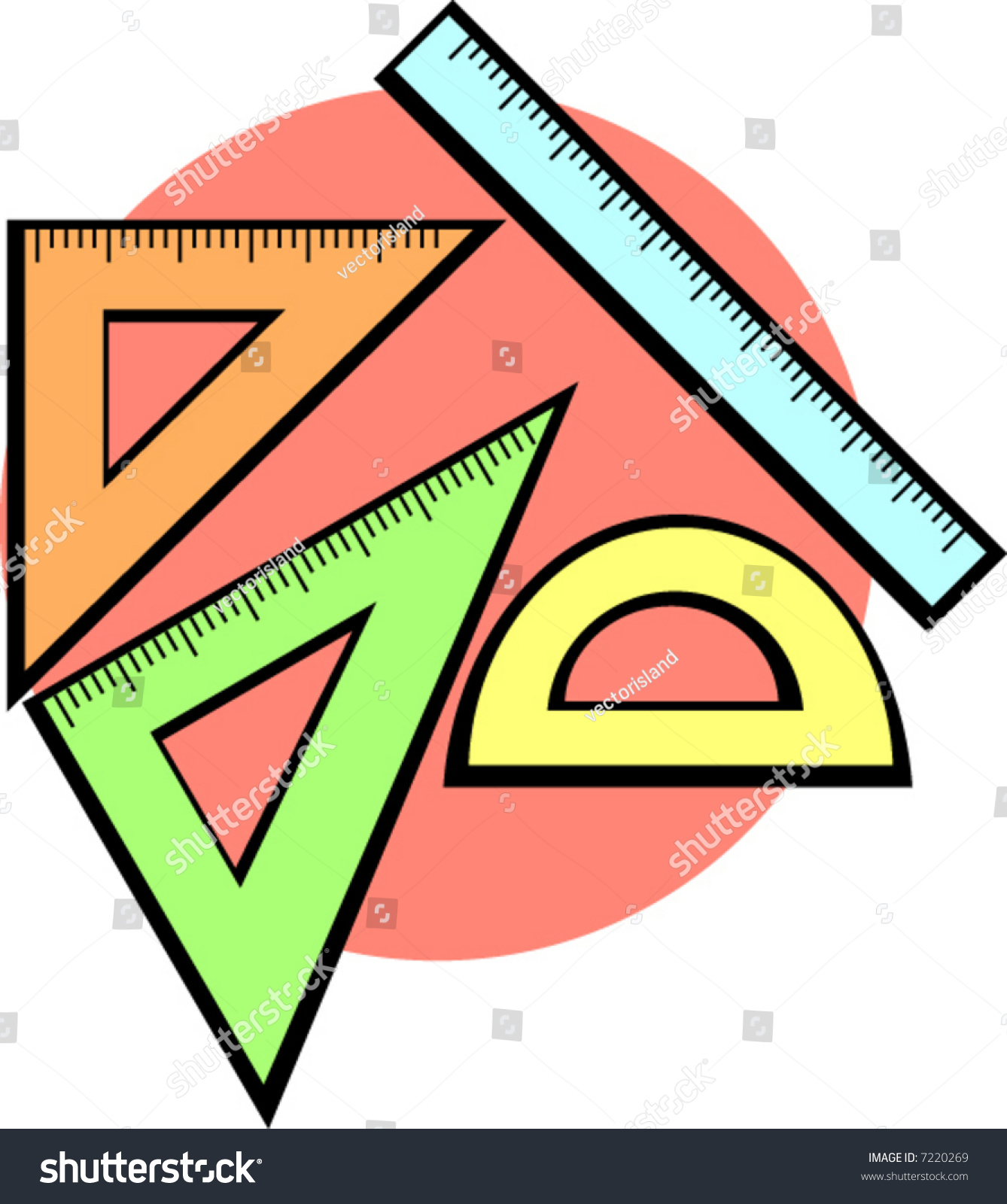 Geometry Set Stock Vector 7220269 - Shutterstock