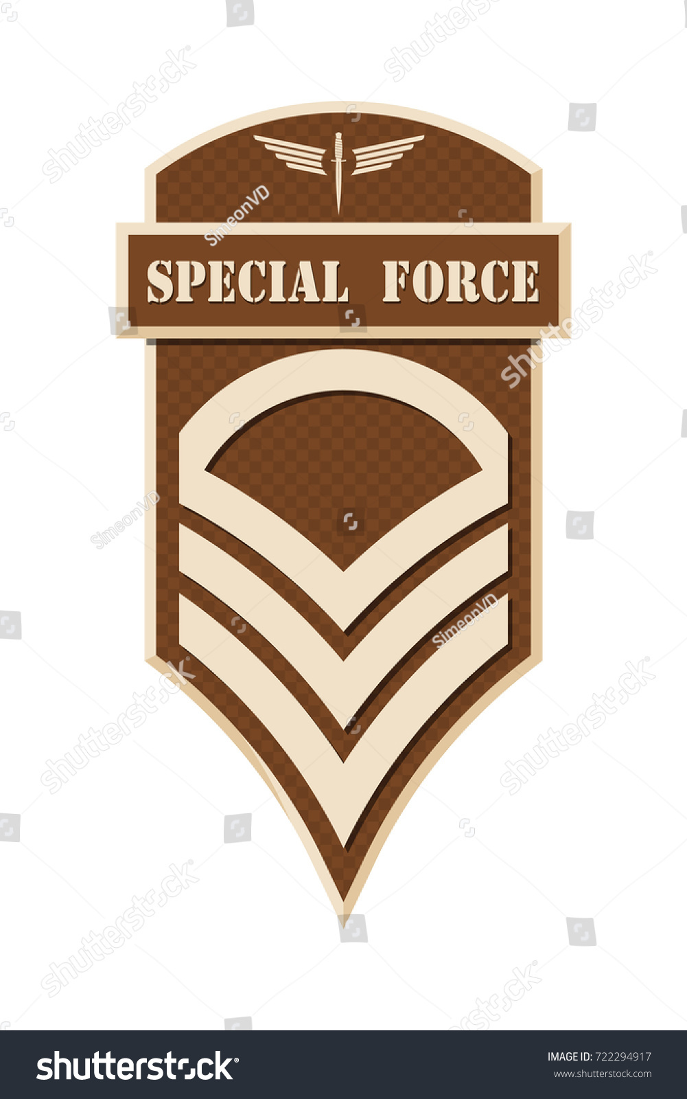 Military ranks insignia stripes chevrons army stock vector 722294917 military ranks and insignia stripes and chevrons of army staff sergeant biocorpaavc Images