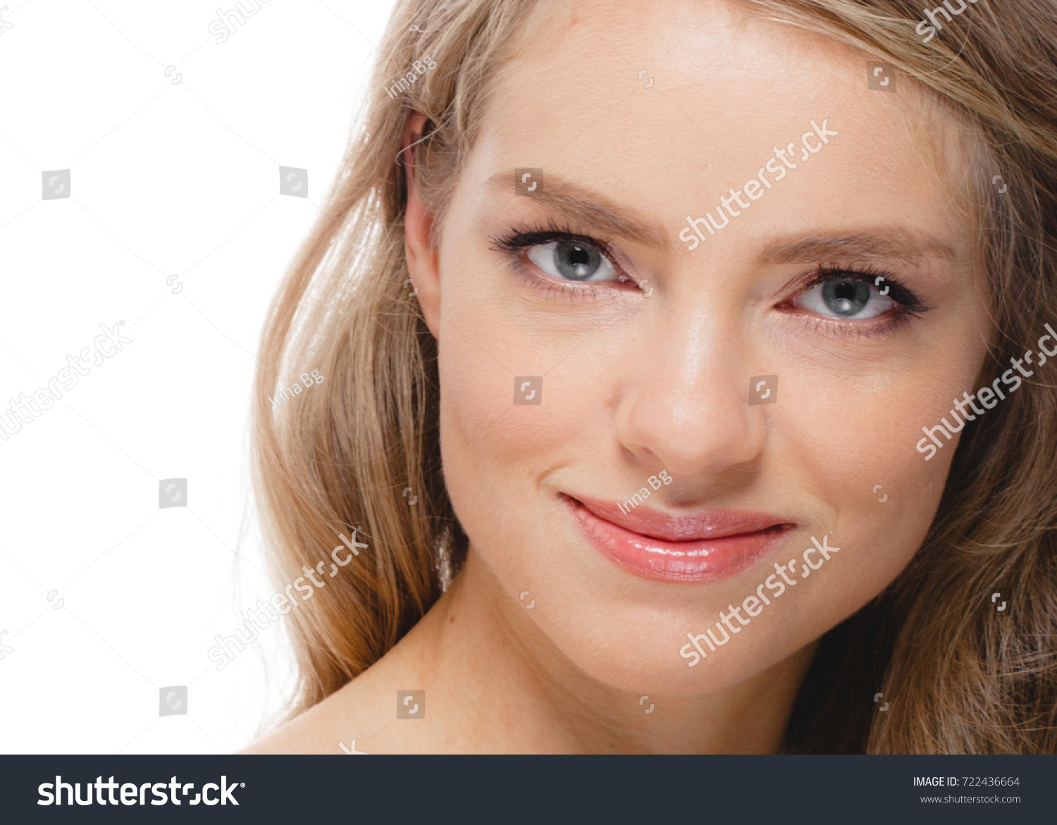 Beautiful Woman Face Beauty Concept Perfect Stock Photo