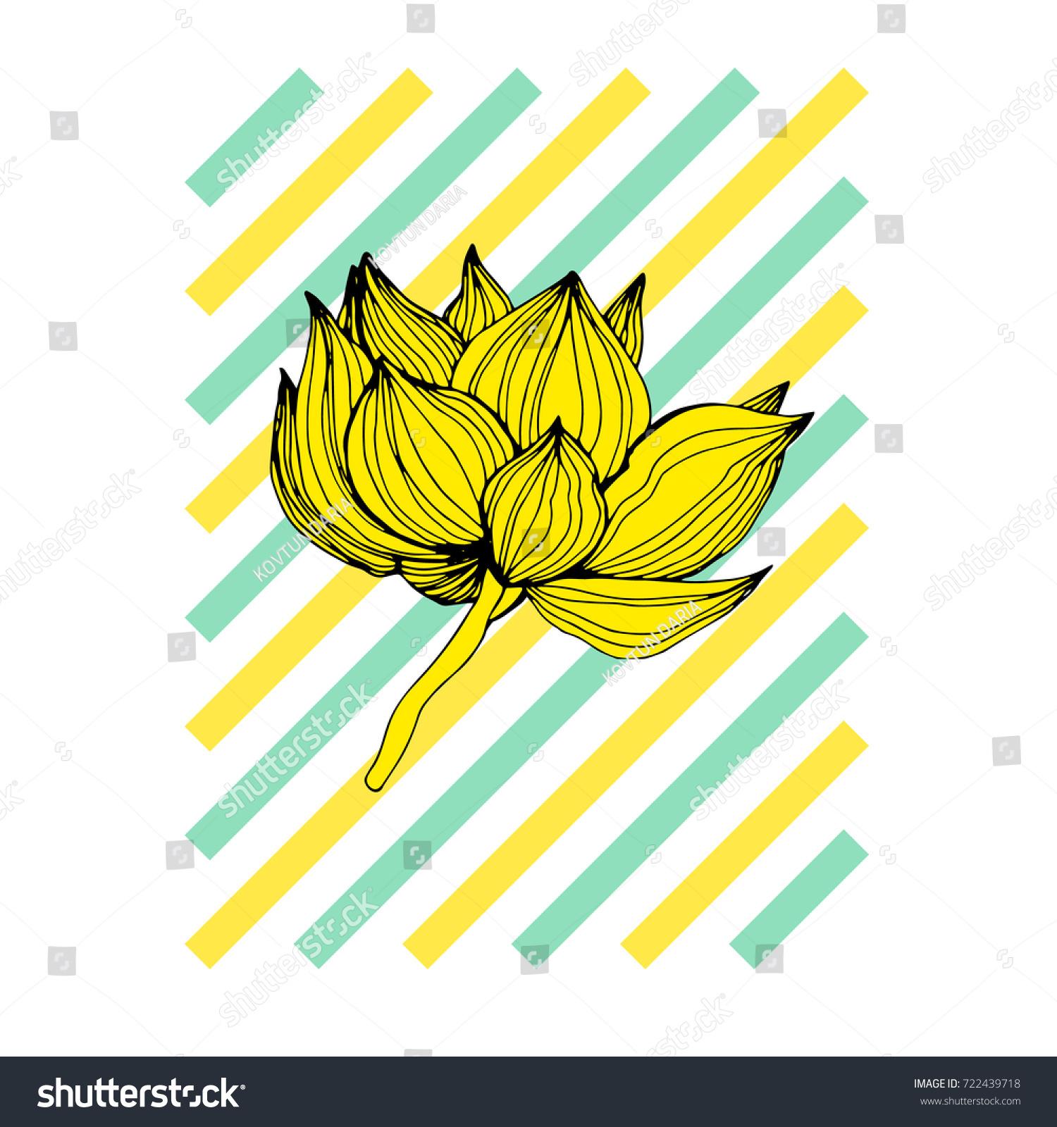 Beautiful vector flowers hand drawn flowers stock vector 722439718 beautiful vector flowers hand drawn flowers vector unusual beautiful flowers graphics izmirmasajfo