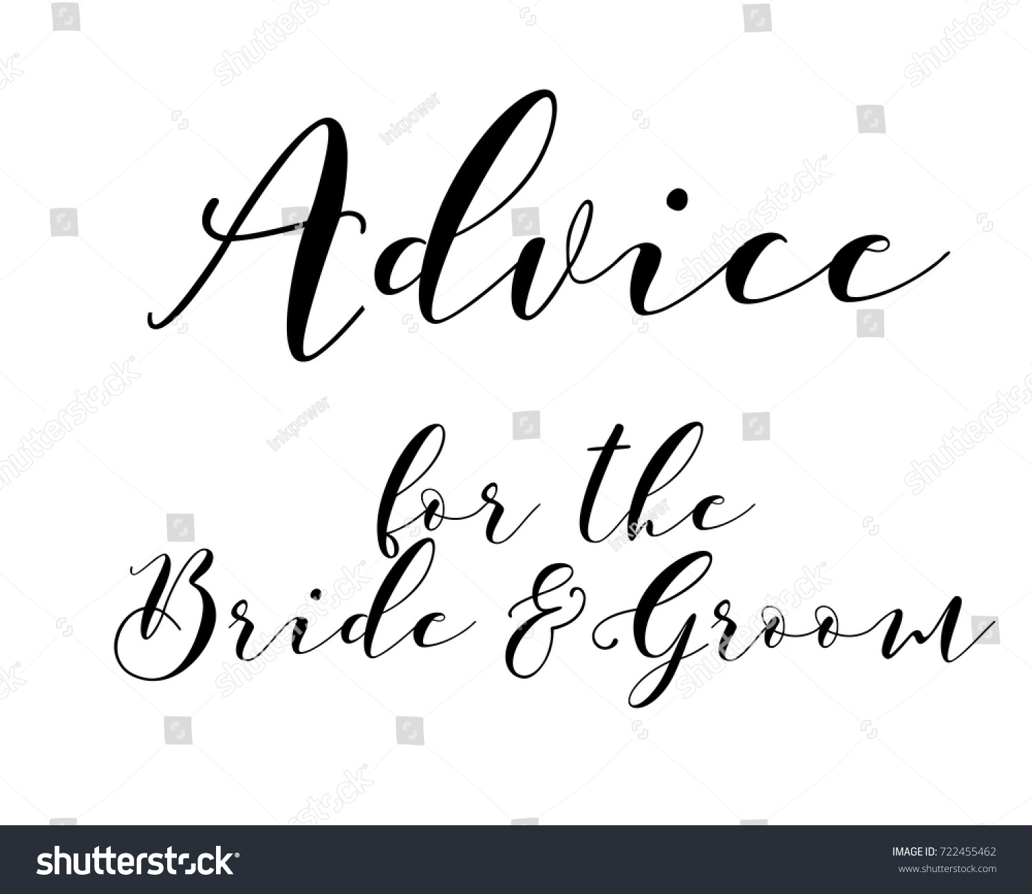 words of advice for bride and groom