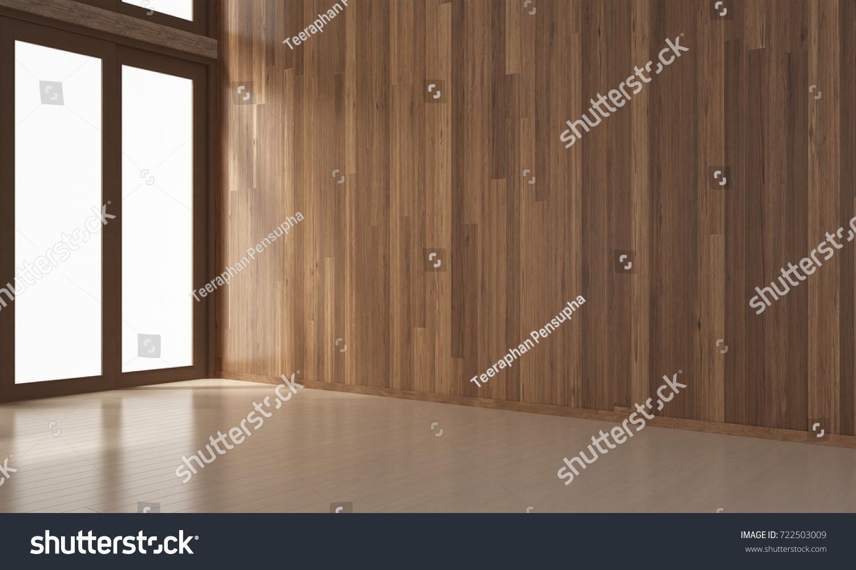 Designs Of The Interior Interior Design Minimal Empty Living Room Stock Illustration
