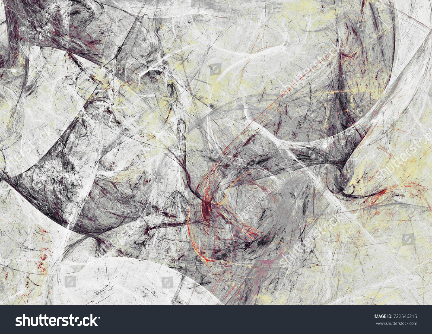 Abstract Painting Soft Color Texture Bright Stock