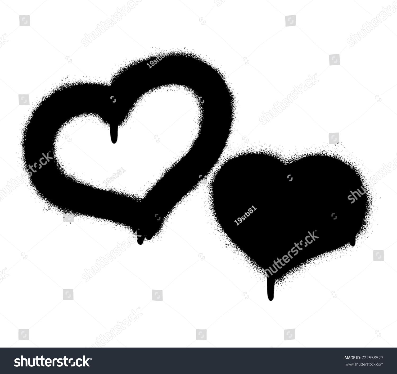 Two Graffiti Hearts