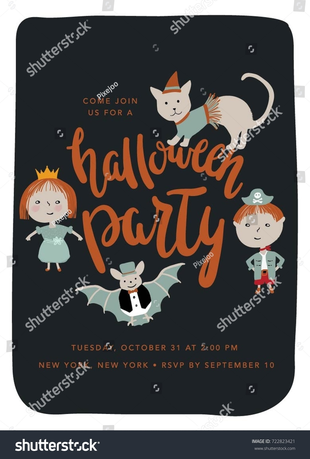 Cute Halloween Party Invitations Gallery - Party Invitations Ideas