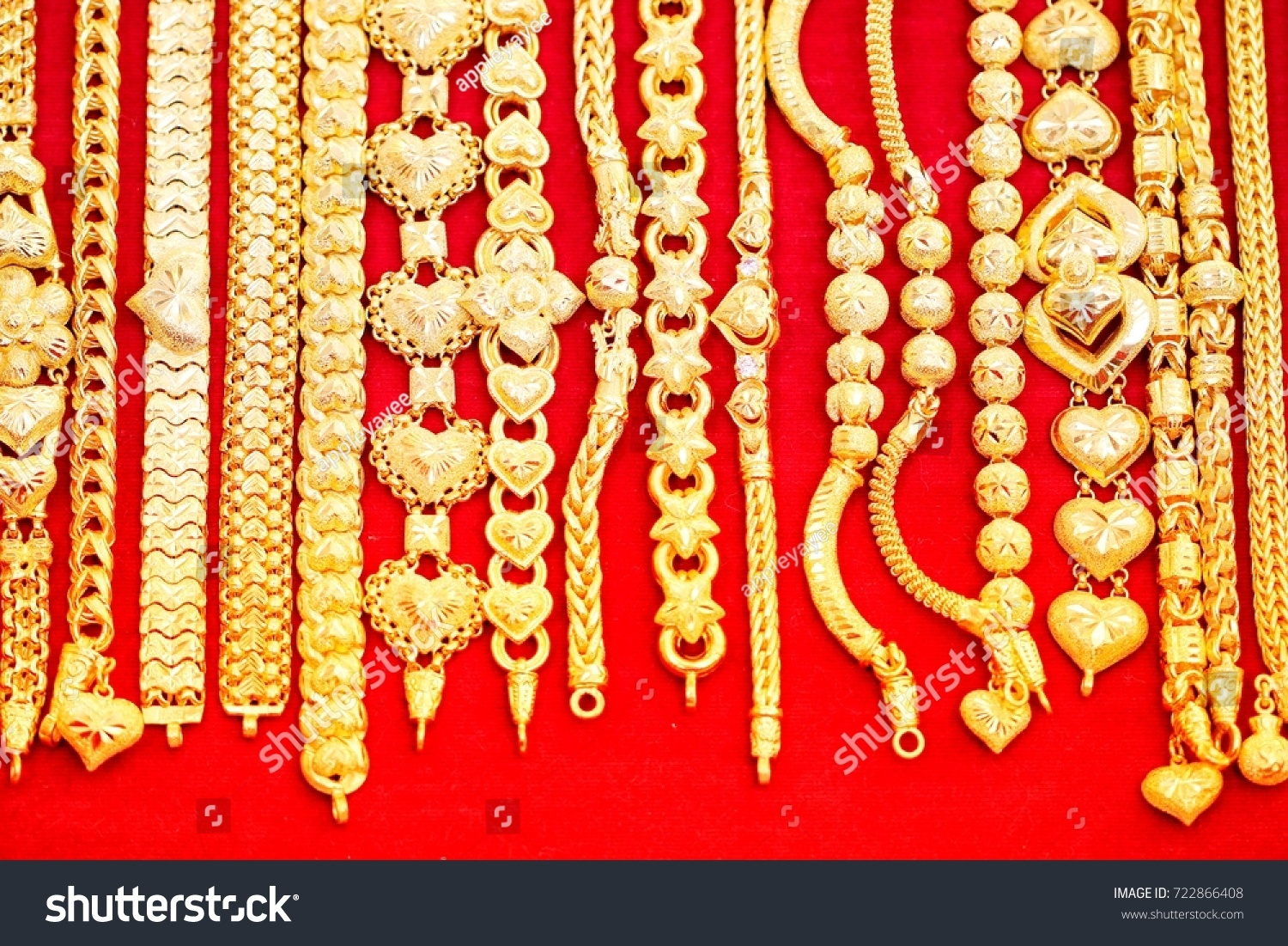 free on shutterstock shiny for style jewelry creative image woman thai red at velvet bracelet design photo chains stock tray gold royalty show
