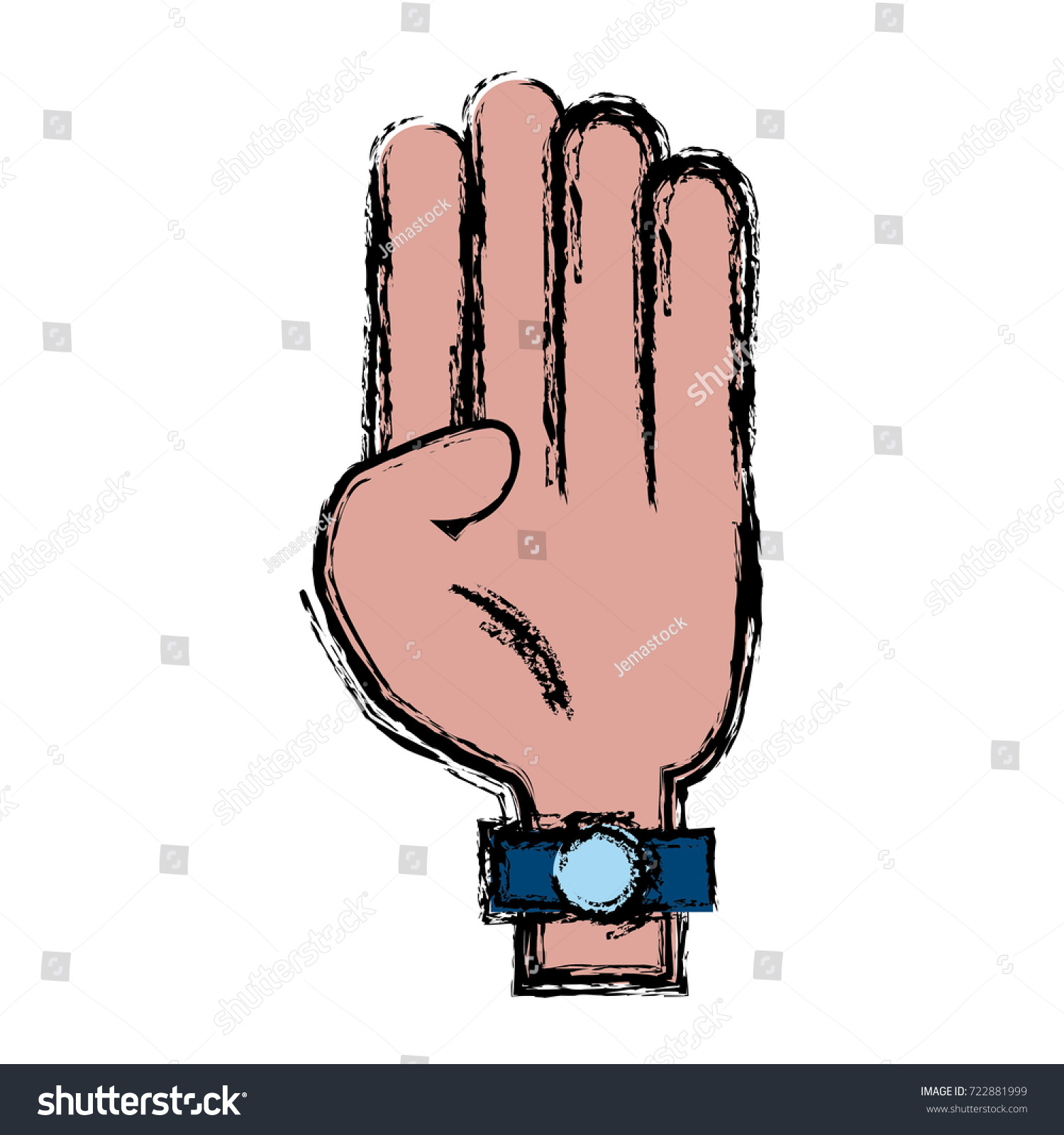 Hand symbol isolated stock vector 722881999 shutterstock hand symbol isolated biocorpaavc