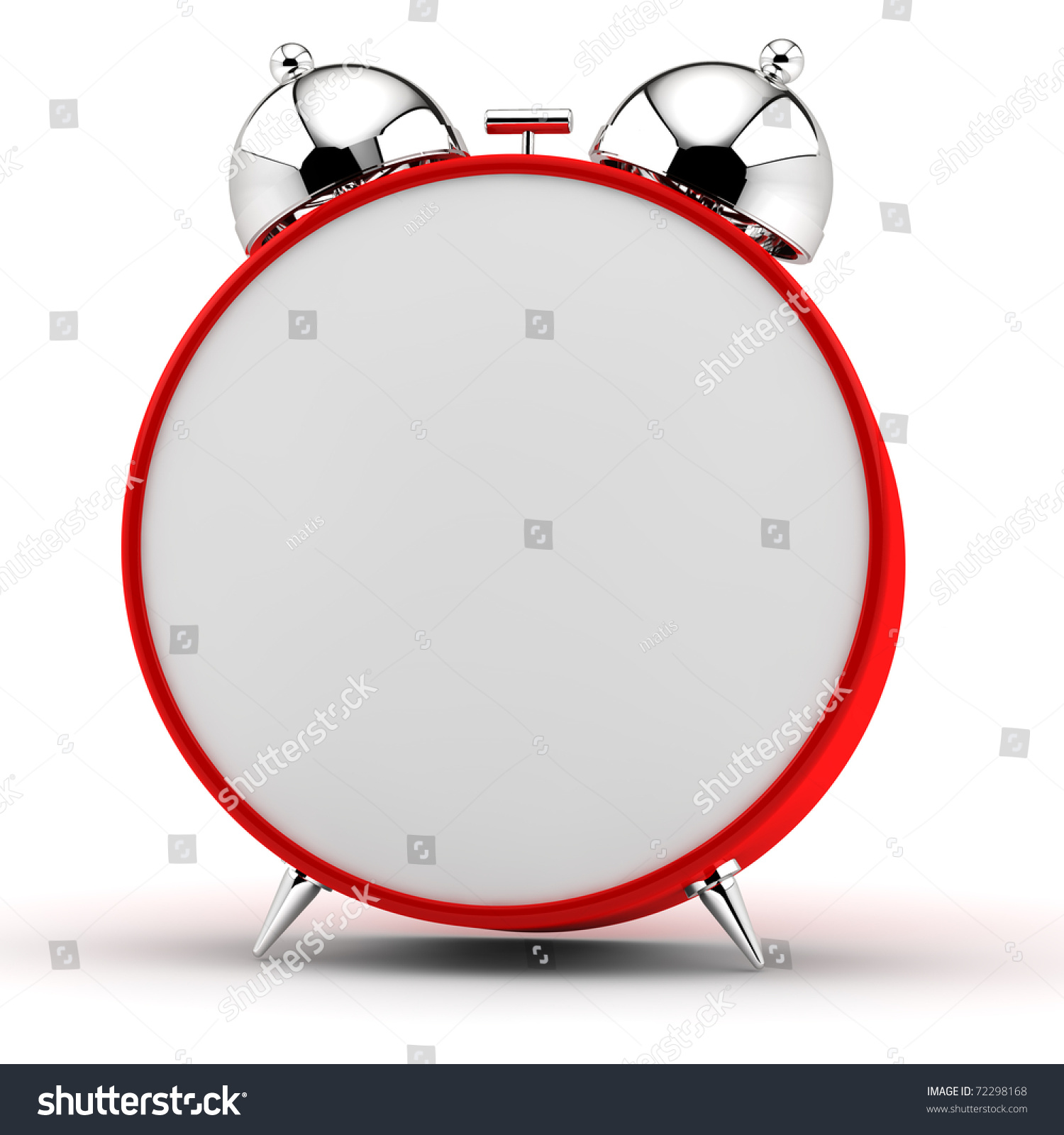 worksheet Empty Clock red alarm clock empty dial stock illustration 72298168 shutterstock with an dial