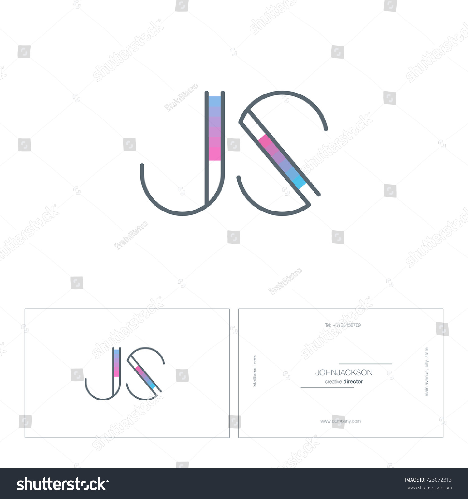 Best of collection of business card pdf template business cards j card template eliolera pronofoot35fo Images