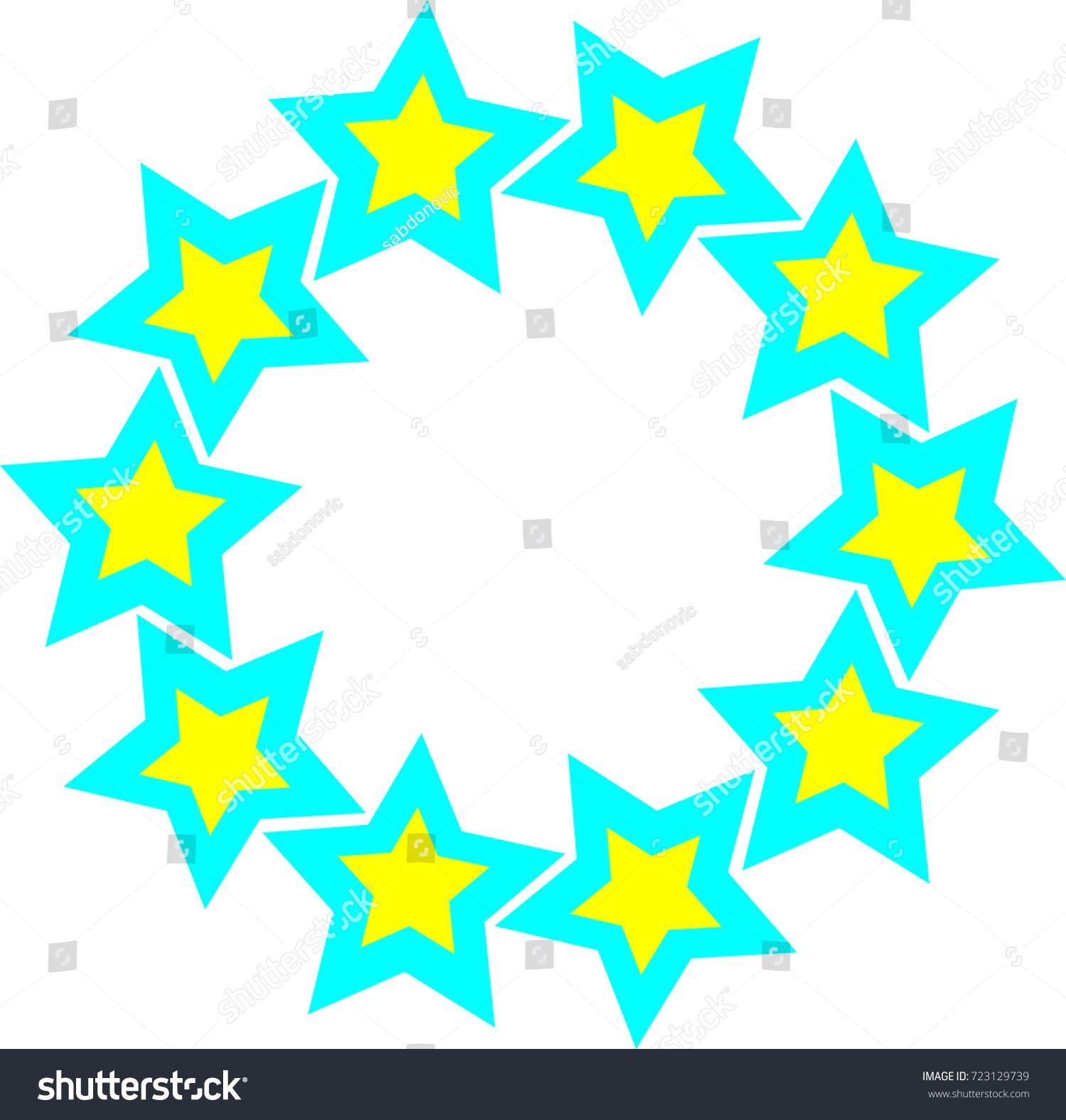 Star Connection Logo Stock Vector 723129739 - Shutterstock