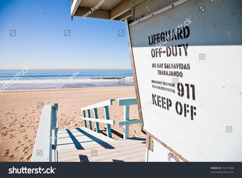 Lifeguard Station Stock Photo 72317698 : Shutterstock