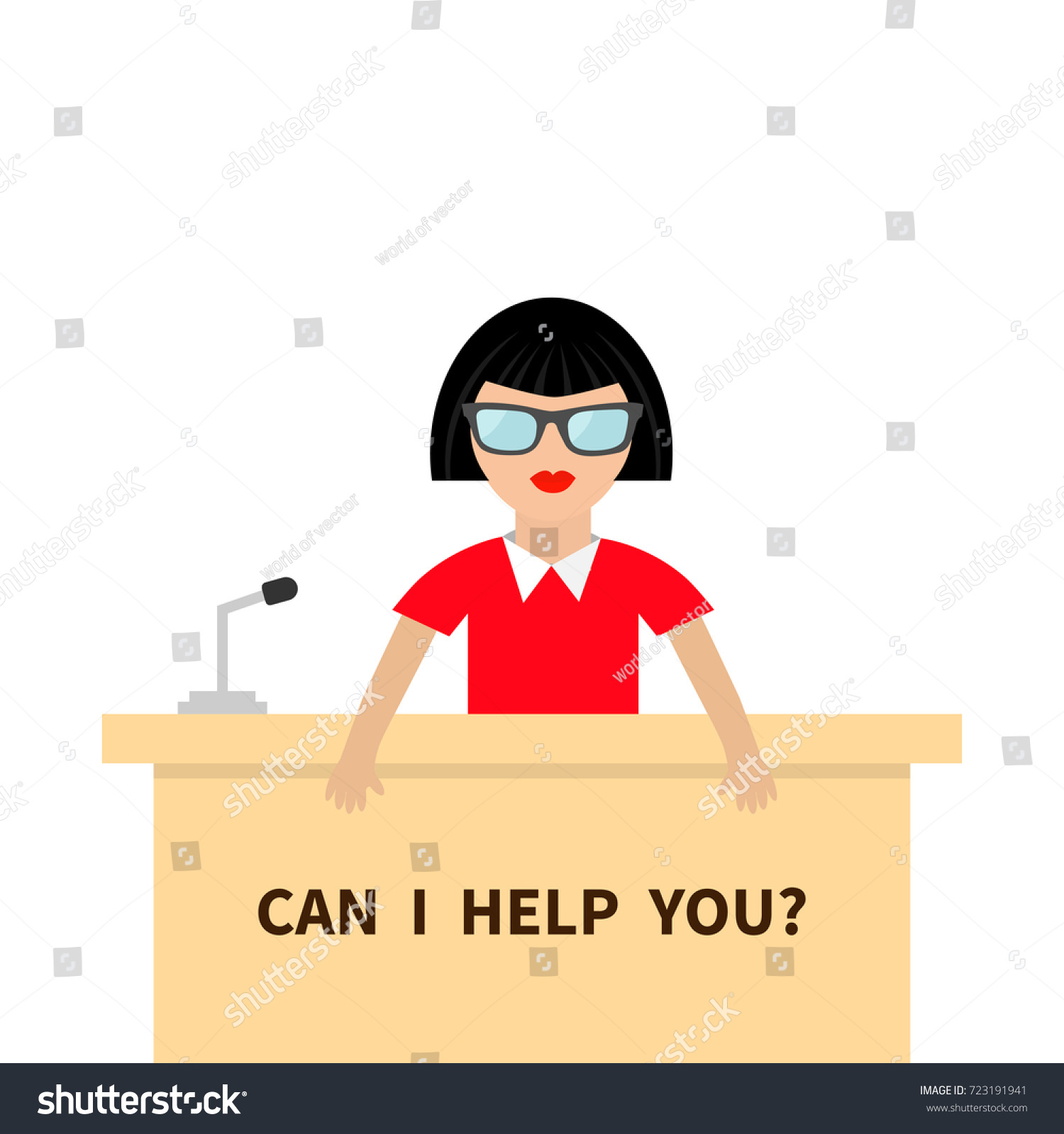 can help you women female people stock vector royalty free