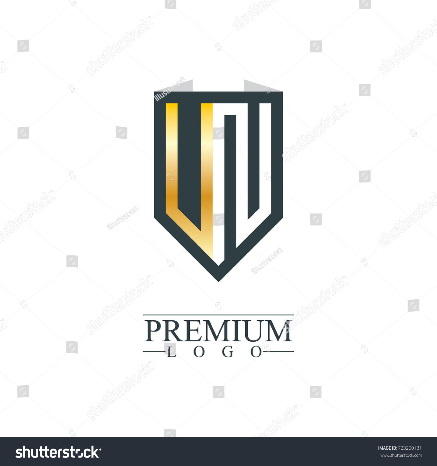 Initial letter un vn company design stock vector 723200131 initial letter un vn company design logo template spiritdancerdesigns Choice Image