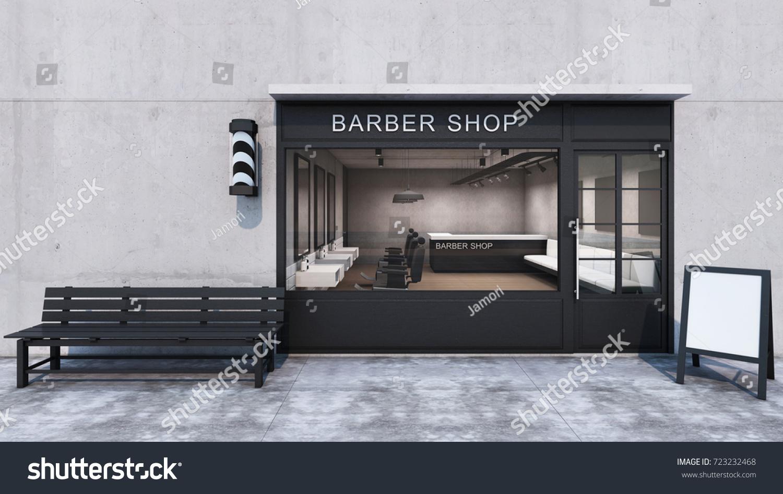 3d music barber shop