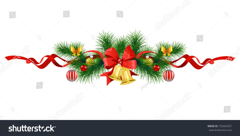 Christmas festive poinsettia frame holiday image stock for Poinsettia christmas tree frame