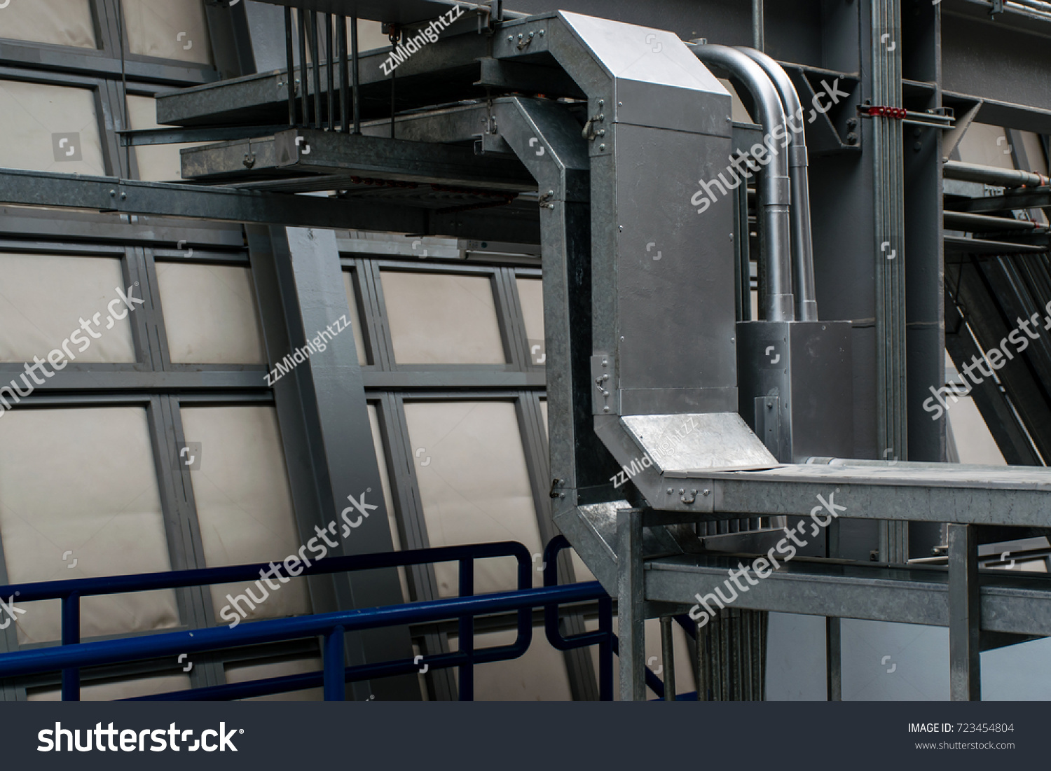 Electrical Raceway Conduit Stock Photo Edit Now 723454804 Wiring Track And