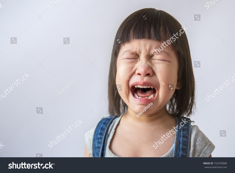 Asian facial crying