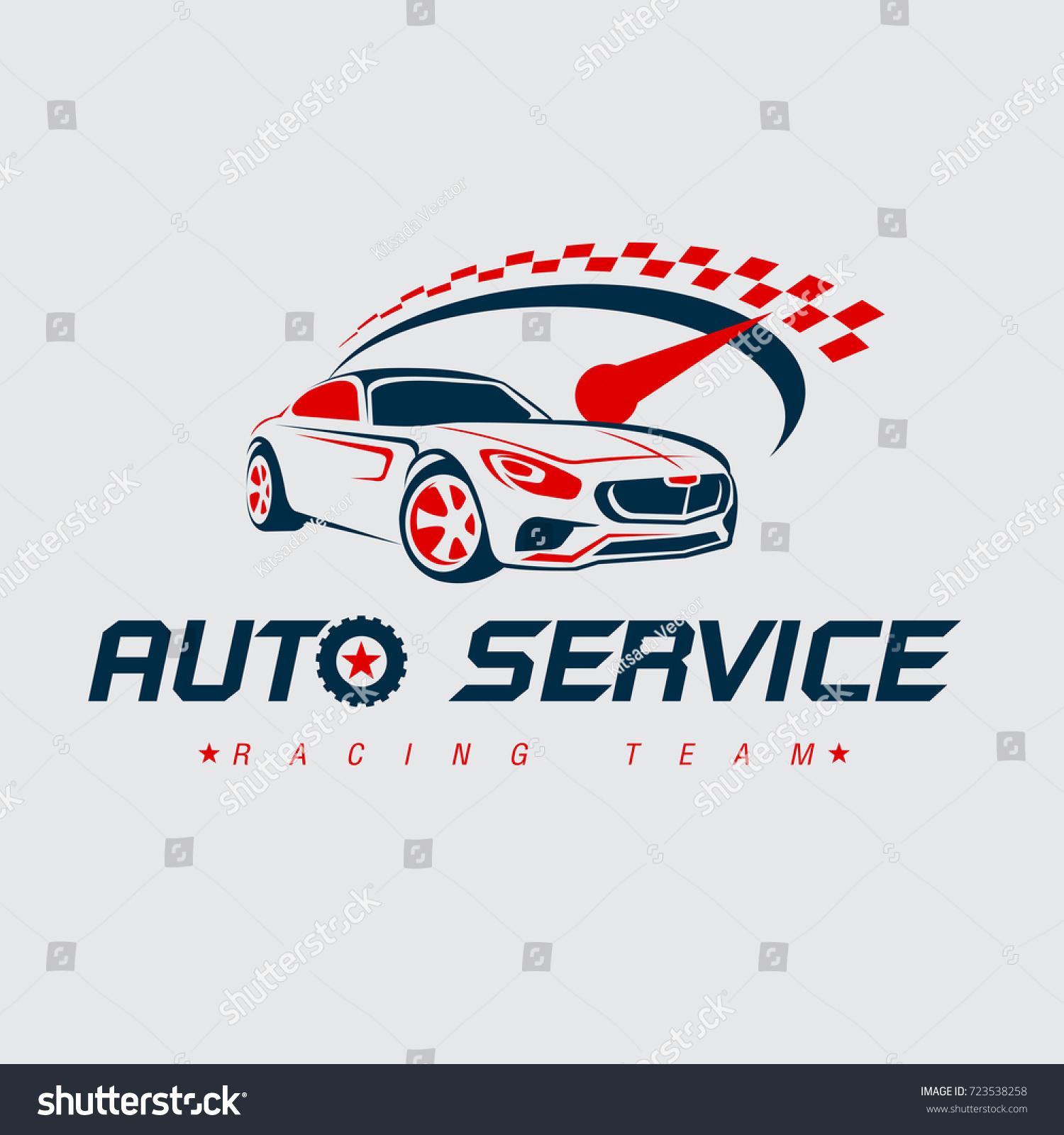 Auto racing logocar logo vector logo template