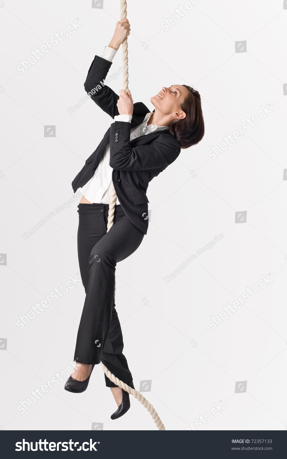 successful w climbing career stock photo shutterstock successful w climbing up to career