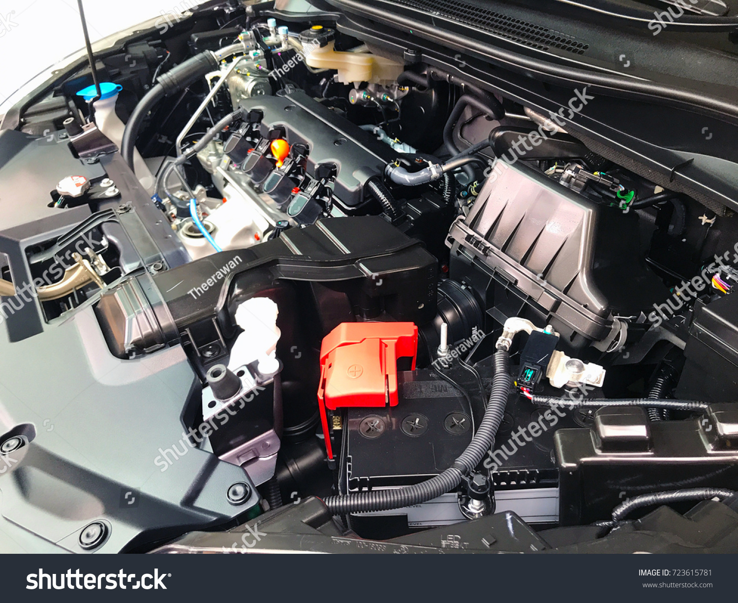 Close Part Position Car Engine Internal Stock Photo & Image (Royalty ...