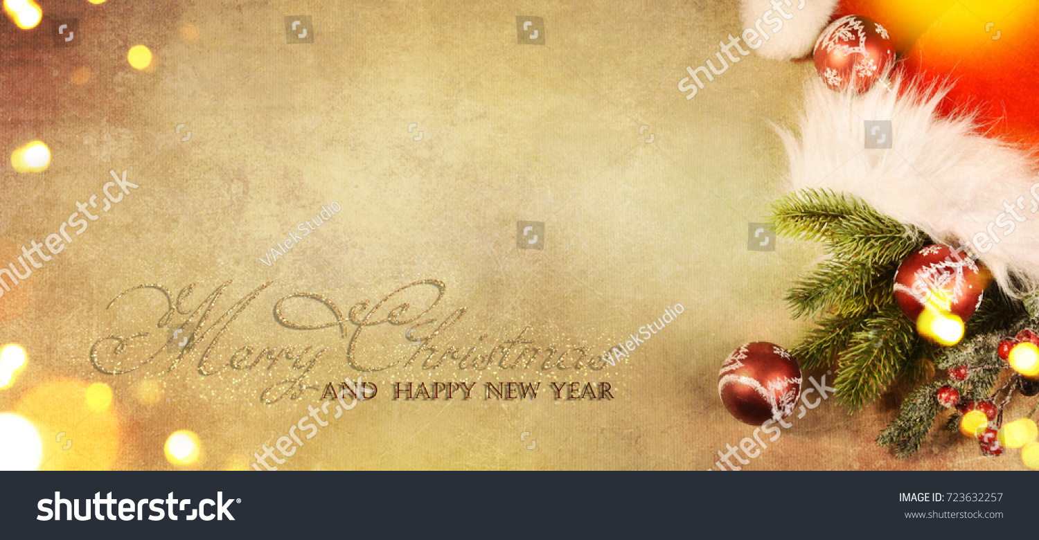christmas and new year s holiday background with copy space christmas border ez canvas