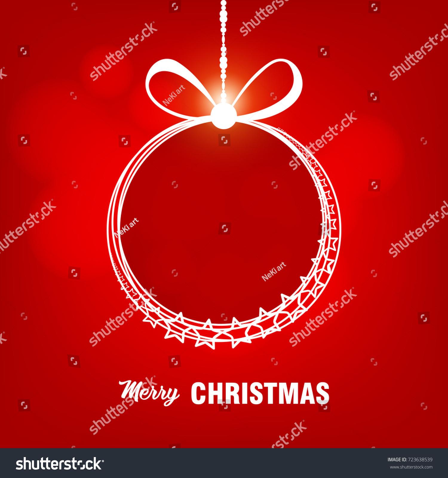 Merry christmas everyone vintage frame design stock vector royalty merry christmas everyone vintage frame design for xmas greeting card flyer poster m4hsunfo