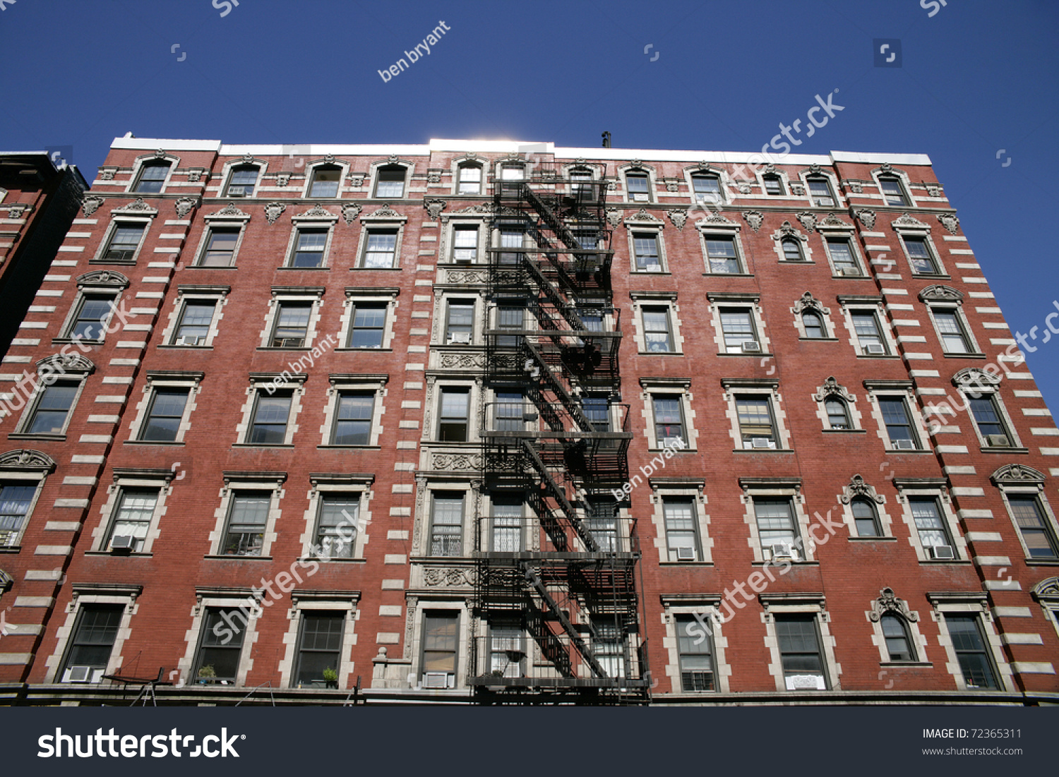 Apartment Building Front front famous apartment building new york stock photo 72365311