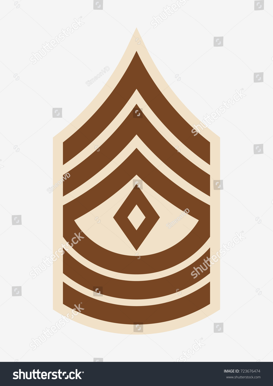 Military ranks insignia stripes chevrons army stock vector 723676474 military ranks and insignia stripes and chevrons of army first sergeant biocorpaavc Images
