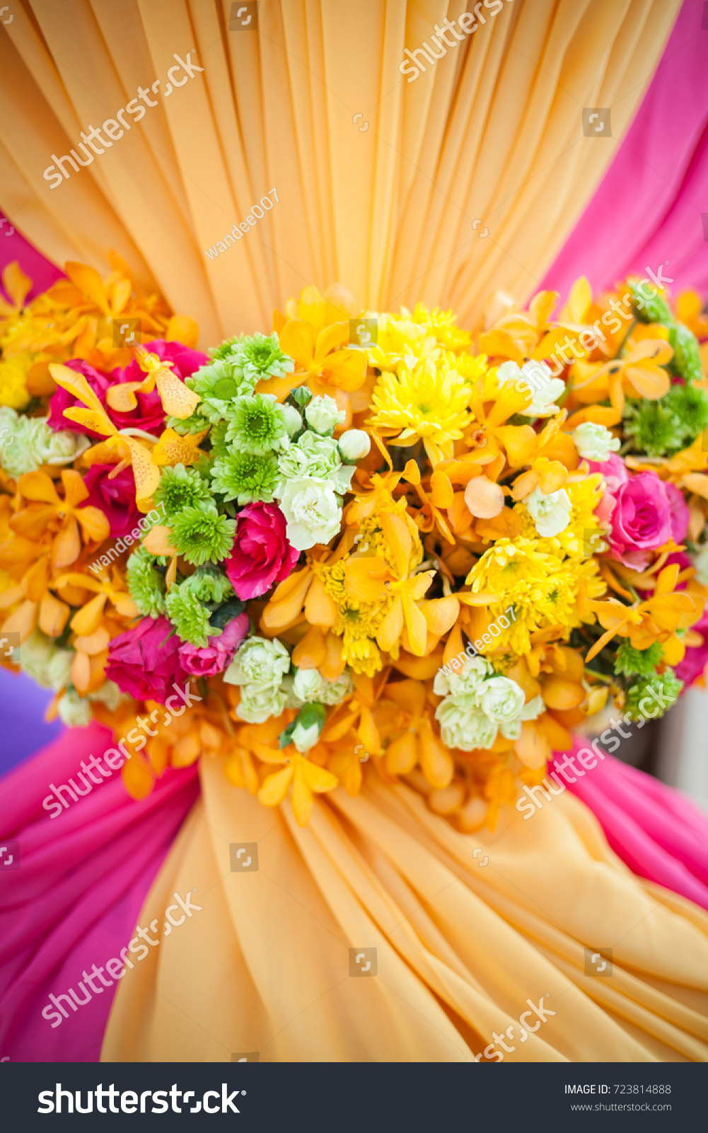 Beautiful Wedding Decorated On Indian Wedding Stock Photo Edit Now