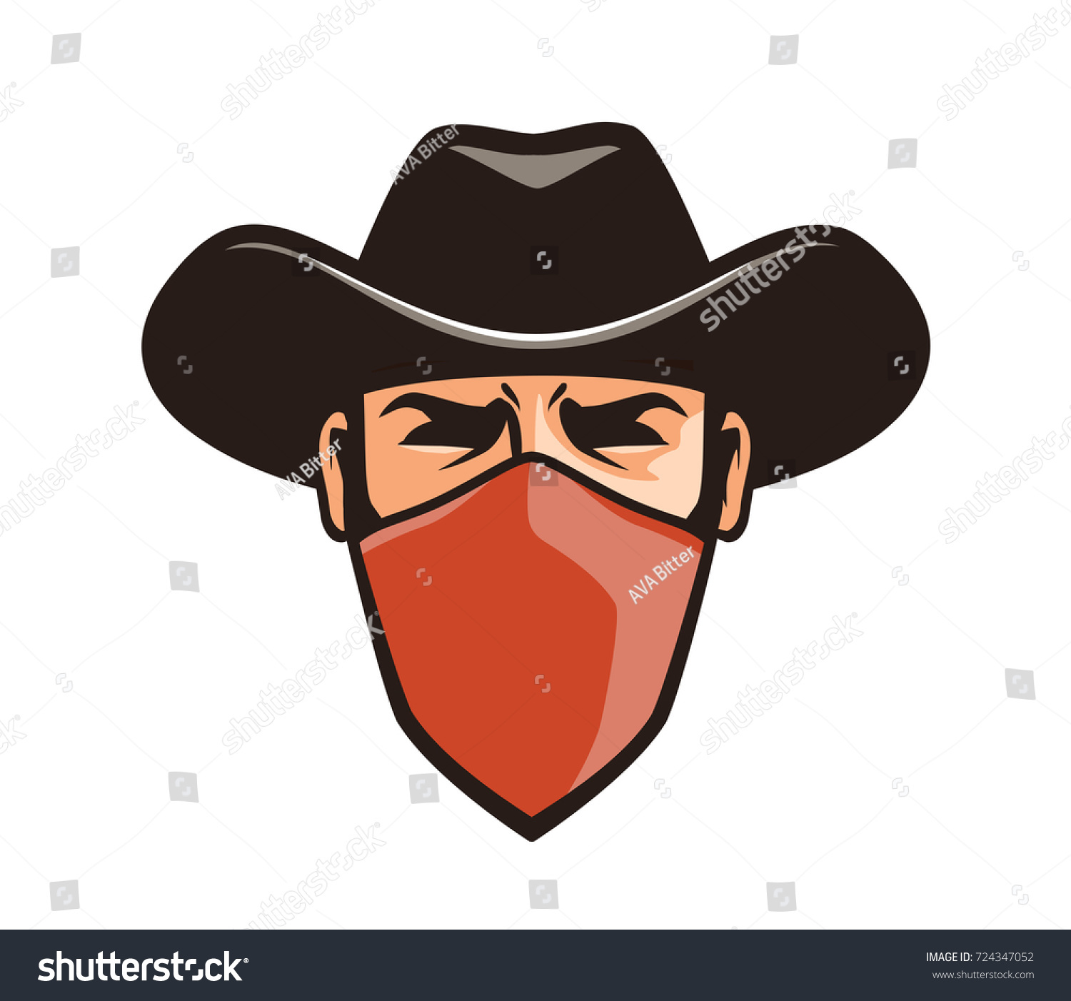 Male Sheriff Avatar Character