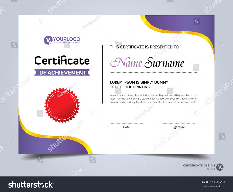 Modern creative certificate appreciation award template modern creative certificate appreciation award template 724619605 shutterstock yelopaper Images