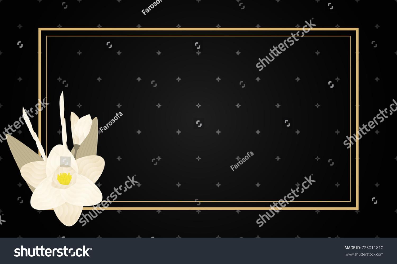 Dok Mai Chan Thai Artificial Funeral Stock Vector 725011810