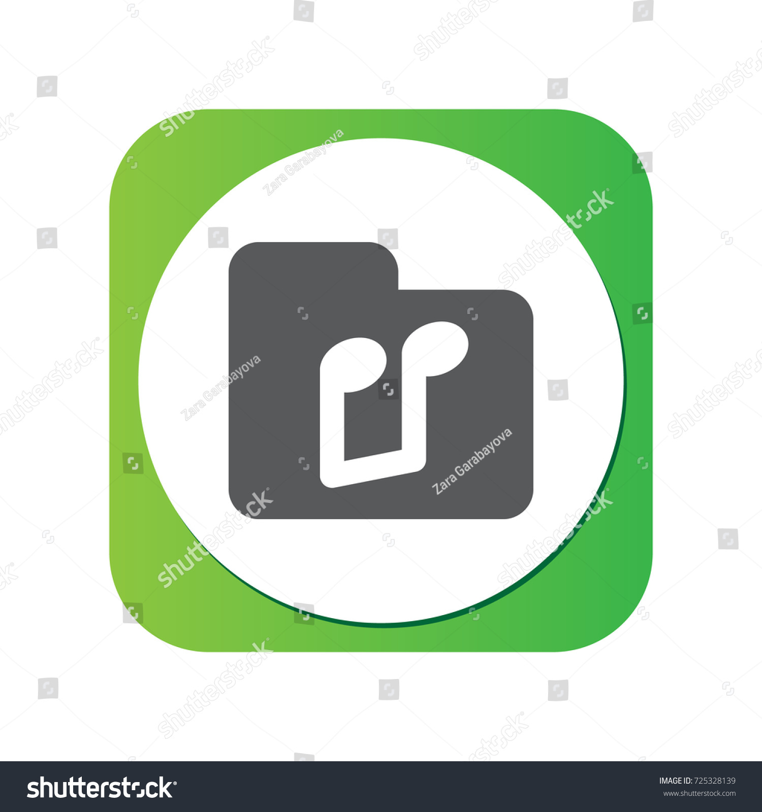 Isolated Music Icon Symbol On Clean Stock Vector 725328139