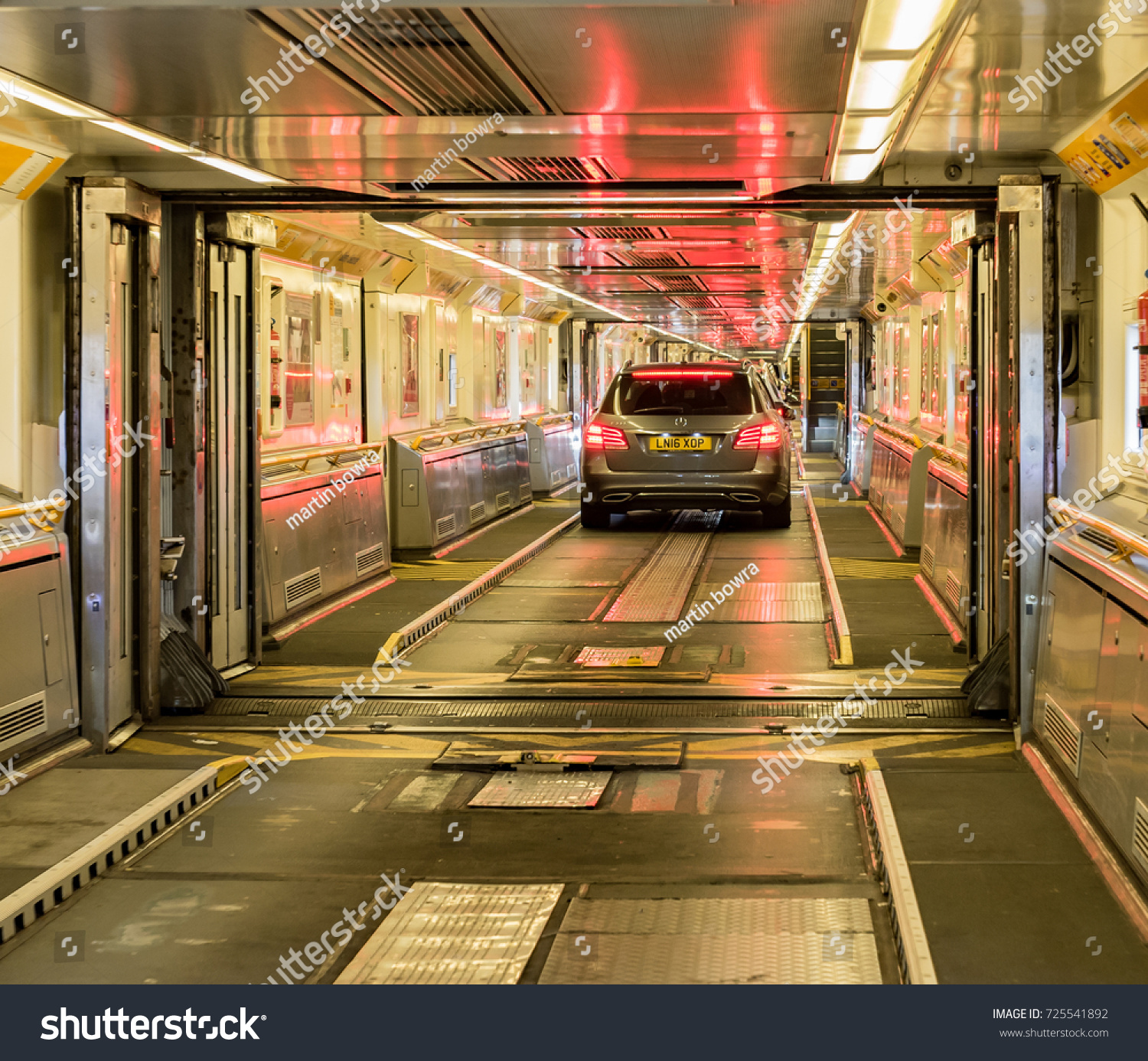 Eurotunnel Calais France September 21st 2017 Stock Photo Edit Now