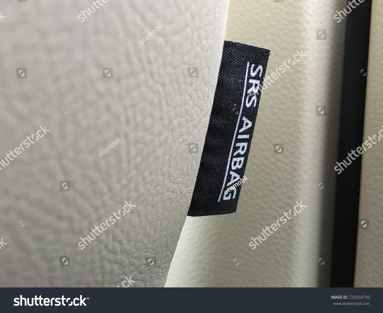 Airbag Symbol Car Seat Stock Photo Royalty Free 725554795