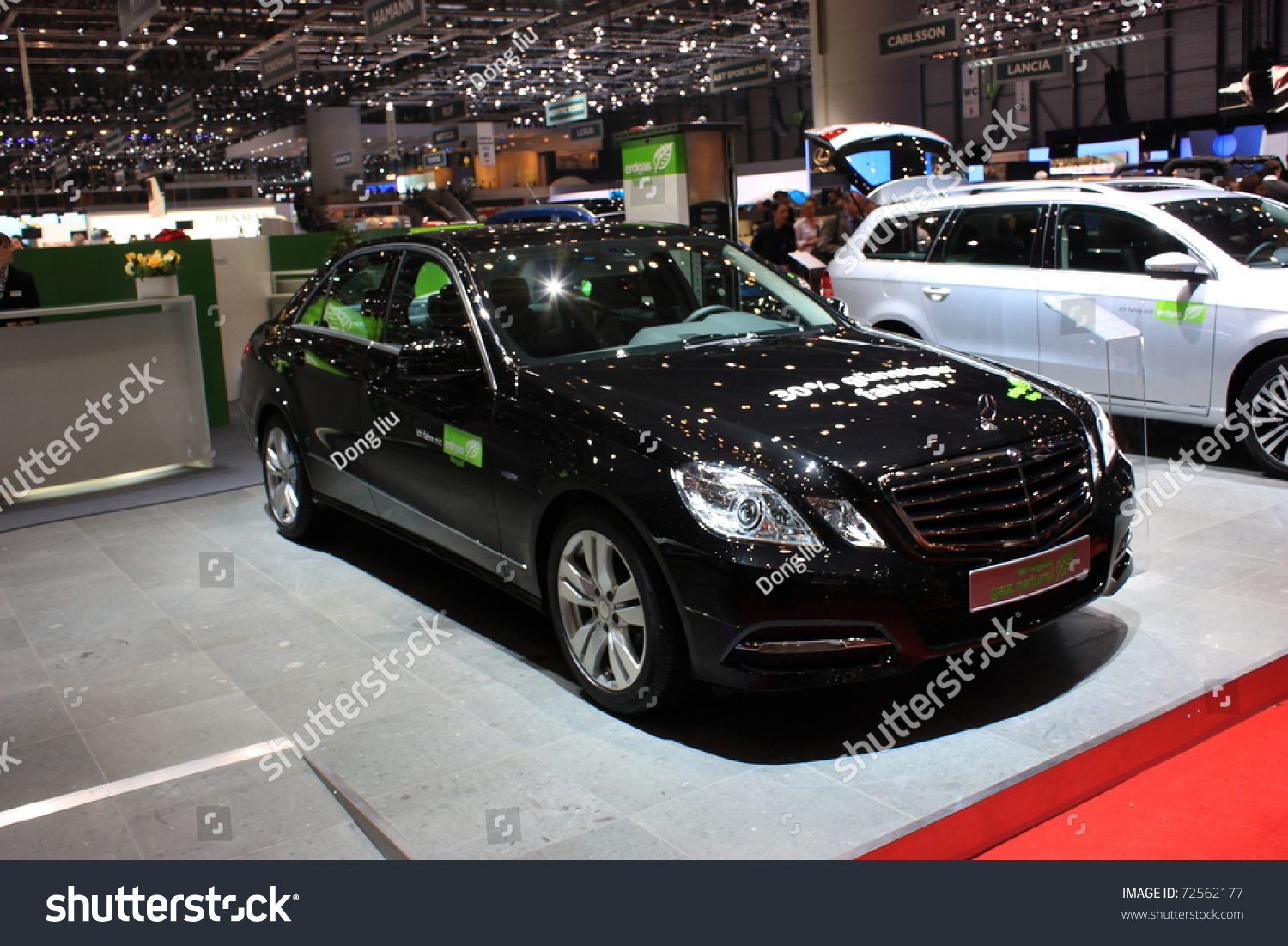 Geneva march 3 mercedesbenz natural gas stock photo - Mercedes car show ...