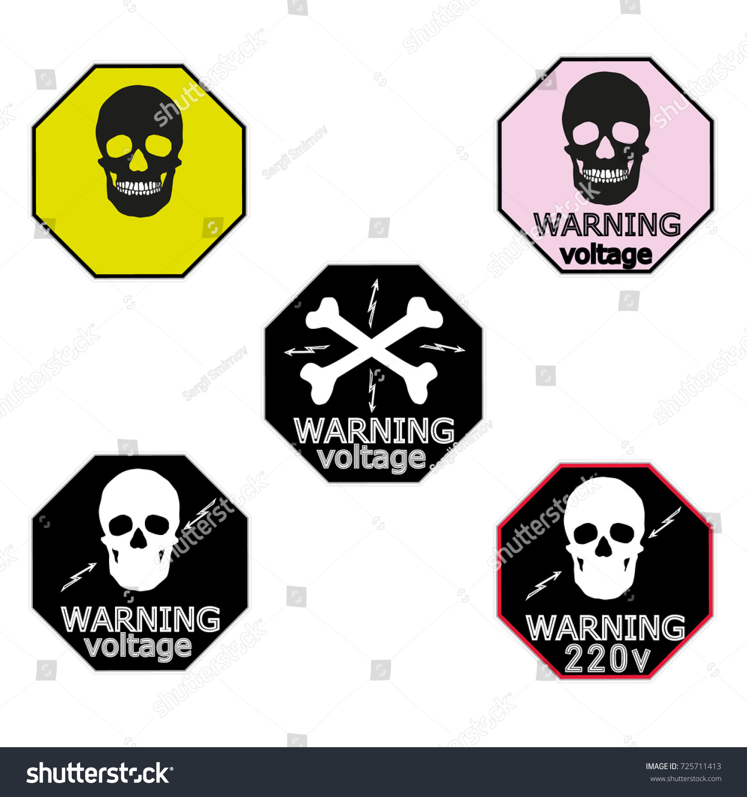 Stickers Electrical Distribution Board Consumer Electrical Stock